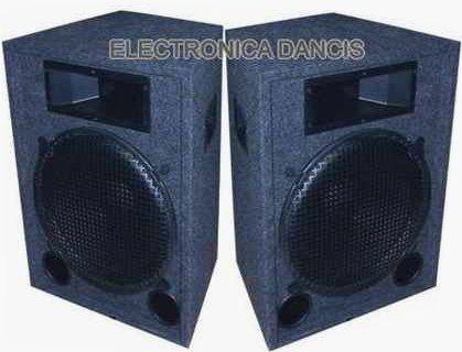 equipo de sonido completo para bandas consola, bafles amplif