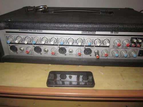 equipo de sonido completo para salon de fiestas infantiles