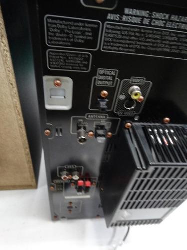 equipo de sonido jvc con lector de dvd ref ca dx j11