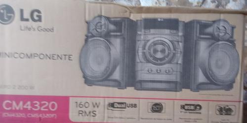 equipo de sonido lg 4320