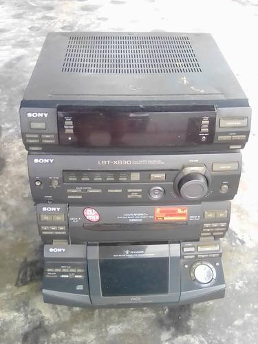 equipo de sonido marca sony modelo lbt-xb30 usado
