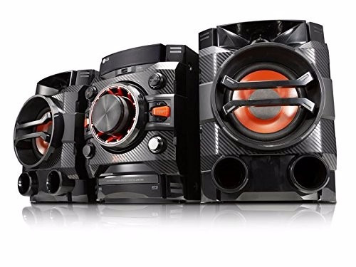 equipo de sonido, minicomponente lg modelo cm4350 (260 w)