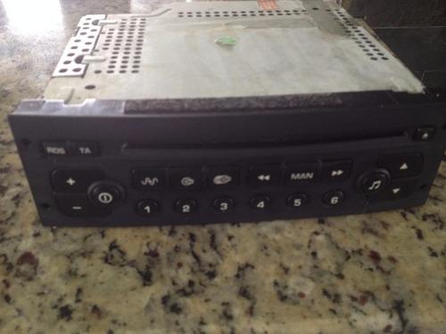 equipo de sonido o radio original peugeot 206