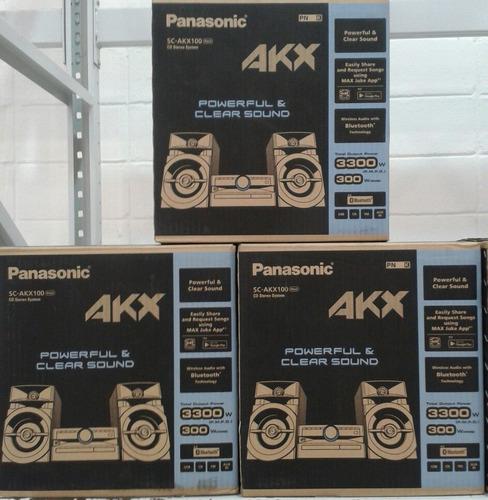 equipo de sonido panasonic akx 100 oferta ya