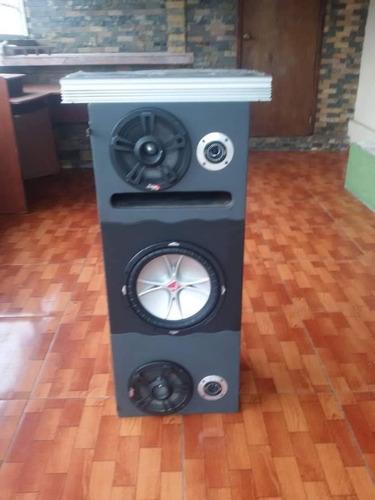 equipo de sonido para camioneta
