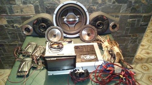 equipo de sonido para carros o camionetas