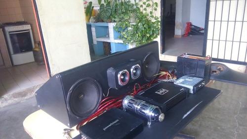 equipo de sonido para vehículo planta bajos.