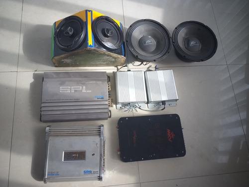 equipo de sonido plantas medios reproductor también separado