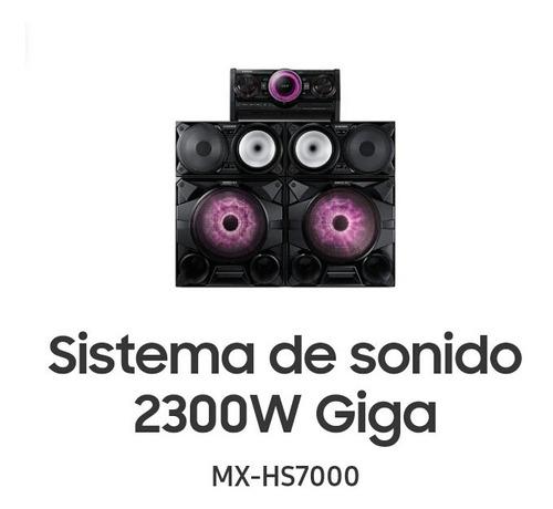 equipo de sonido samsung sound giga mx-hs 7000 ( nuevo )