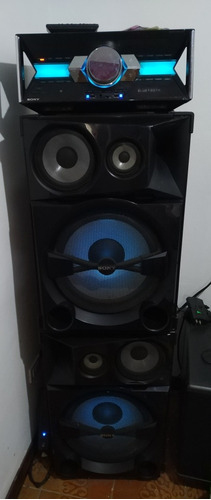 equipo de sonido shake 7 sony.