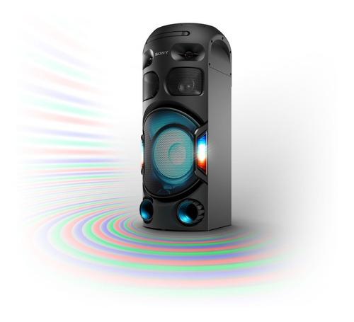 equipo de sonido sony alta potencia bluetooth mhc-v42d