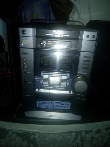 equipo de sonido sony cuon puerto usb y bluetooth