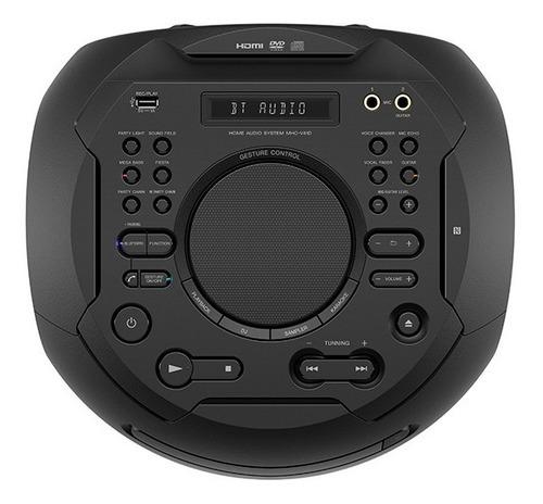 equipo de sonido sony mhc-v41 bluetooth negro