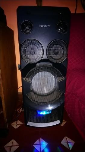 equipo de sonido sony mhc v7d.