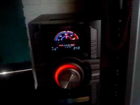 equipo de sonido sony. modelo mhc - gt555