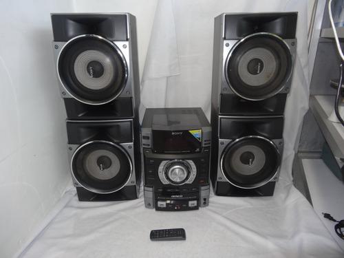 equipo de sonido sony modelo mhc-gtr6 900w rms con control