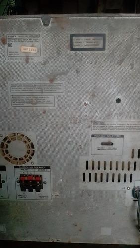 equipo de sonido sony robocop repuesto o reparar