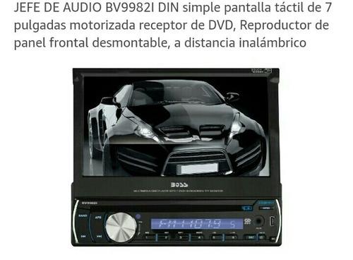 equipo de sonido táctil para carro.