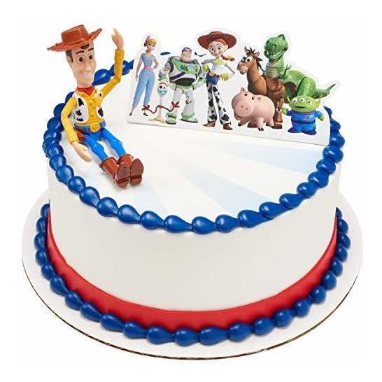 Equipo De Toy Story 4 Decoración De Pastel De Juguete Topp