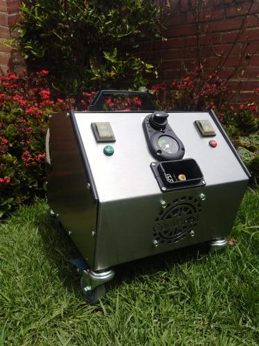 equipo de vapor portatil y versatil de alto desempeño