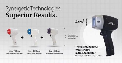 equipo depilacion definitiva laser simil soprano titanium