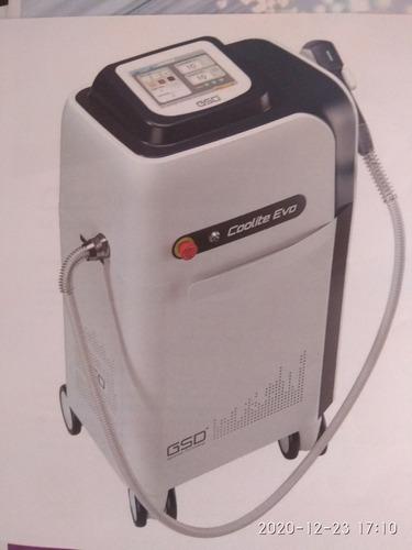 equipo depilación láser y gabinete en alquiler