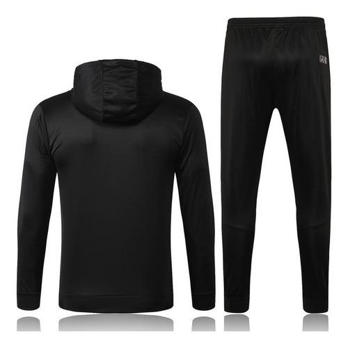 equipo deportivo psg jordan con capucha negro envío gratis