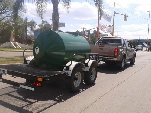 equipo desagote baño quimico con trailer