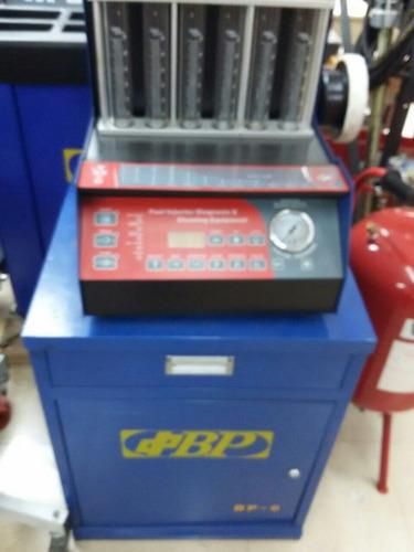 equipo diagnostico bp de 6 injectores gasolina con mueble