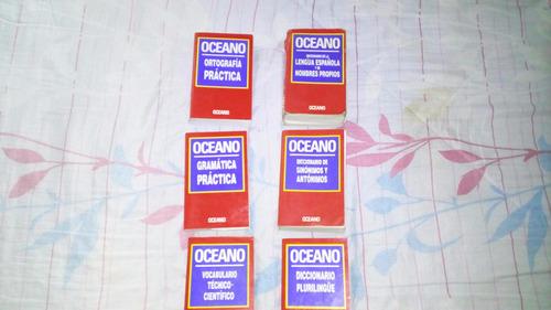 equipo didáctico de diccionarios océano