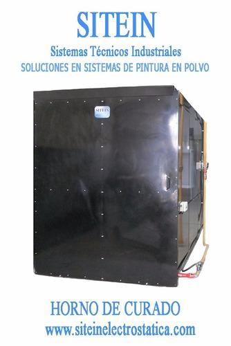 equipo electrostático para pintura en polvo