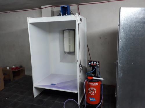 equipo electrostatico pintura epoxi en polvo