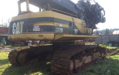equipo forestal desramador cat 322bl