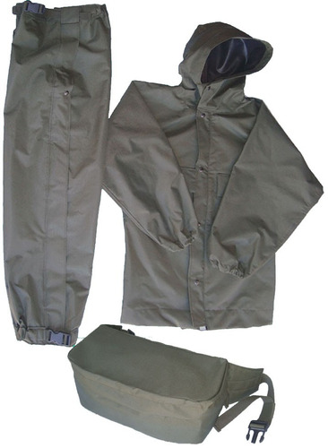equipo impermeable para lluvia ideal motociclistas y camping
