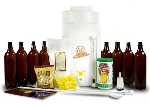 equipo kit para hacer cerveza artesanal 22 litros - all beer