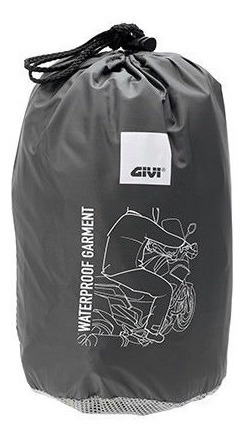 equipo lluvia moto givi crs02 fluo impermeable varios talles