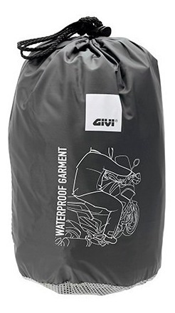 equipo lluvia moto impermeable givi rrs04n c/reflectivos