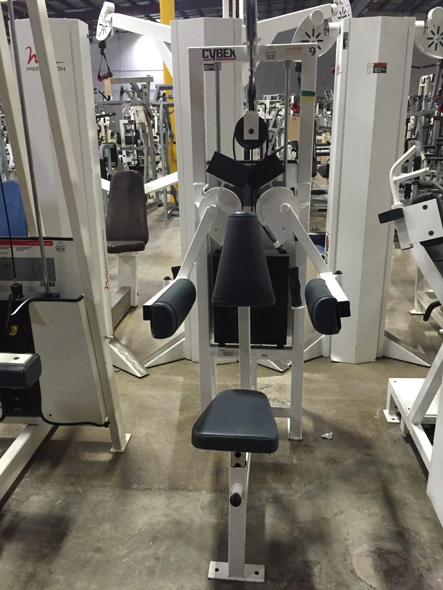 Equipo maquinas cybex vr1 gimnasio gym paquete 14 000 for Aparatos gimnasio