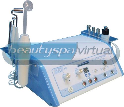 equipo multifuncional, alta frecuencia,microdermoabrasion