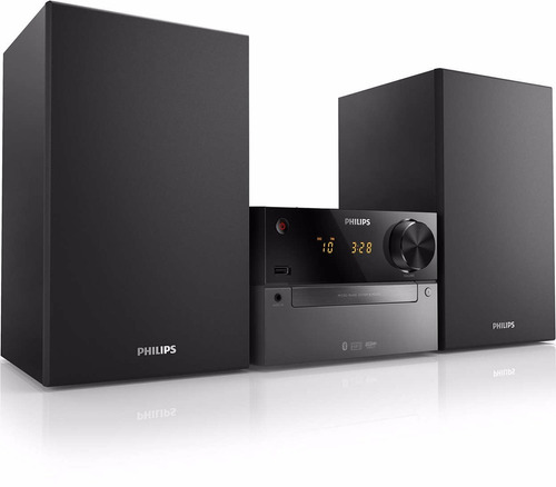 equipo musica philips btm2310/77 bluetooth cd usb fm 15w
