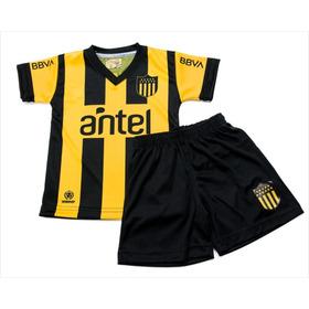 Equipo Niño Camiseta Y Short Club Atlético Peñarol