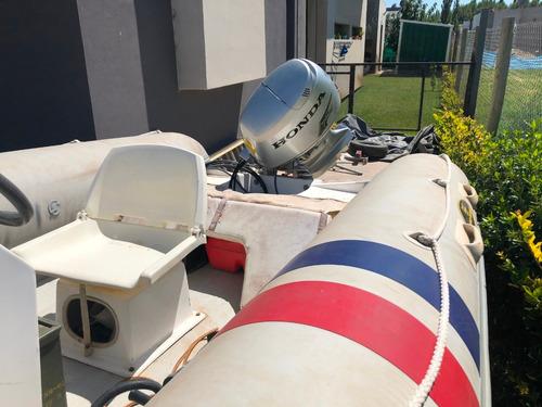 equipo olimpic marine con arranque a distancia y motor 50 hp