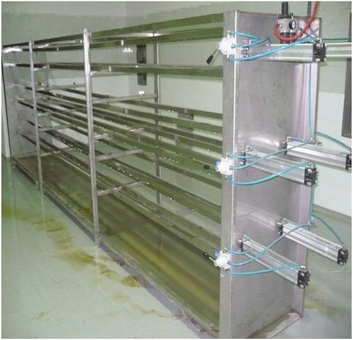 equipo ordeño proceso de leche prensa manual y neumatica