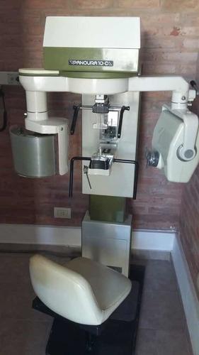 equipo panorámico dental panoura 10 c