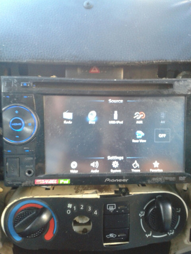 equipo pantalla fija pionner  avh 1450