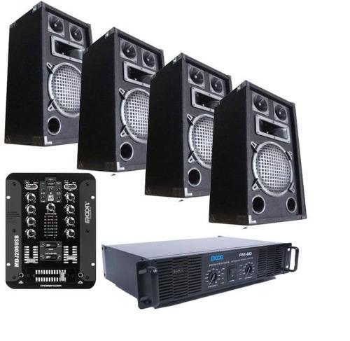 equipo para música funcional de excelente sonido by dancis