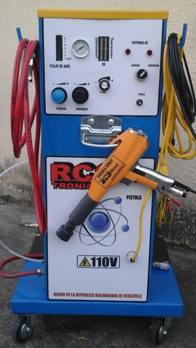 equipo para pintura electrostática en polvo (r.c.s. tronic)