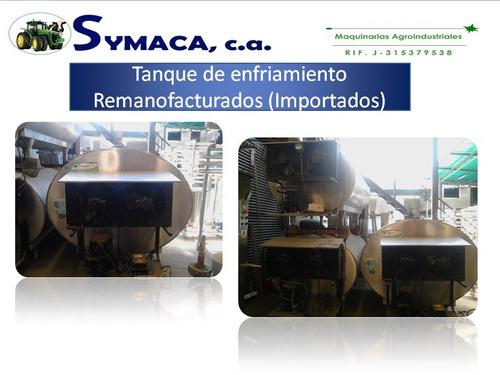 equipo para proceso de leche tanques de enfriamientos