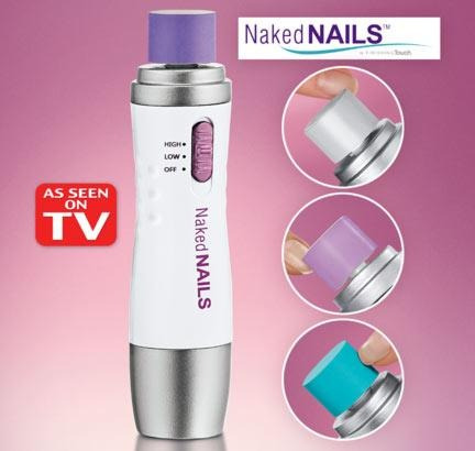 equipo para pulir y polichar uñas naked nails