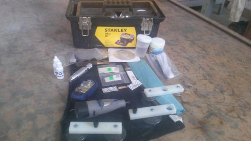 equipo para reparacion de parabrisas
